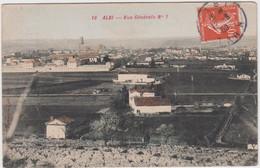 TARN - 14 - ALBI -  Vue Générale N°1  ( - Timbre à Date De 1909 ) - Albi