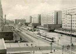 Tram/Strassenbahn Magdeburg,Karl-Marx-Straße, Gelaufen - Strassenbahnen
