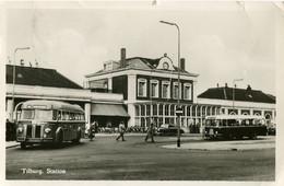 Omnibusse,Mercedes 300 W186,Tilburg,Bahnhof/Gare, Gelaufen - Buses & Coaches