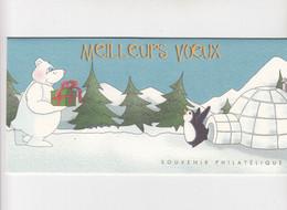 FRANCE -  POCHETTE MEILLEURS VOEUX / 1 - Souvenir Blokken