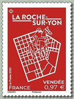 YVERT N° LA ROCHE SUR YON - Francia