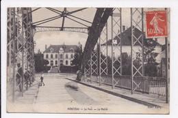 CP 89 MONETEAU Le Pont La Mairie - Moneteau