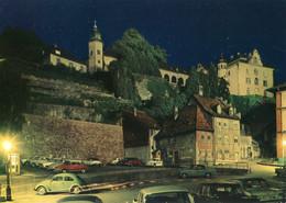 VW Käfer,DKW 1000,Simca Ariane,Citroen DS,Opel,Ford,Baden-Baden,Blick Zum Schloß, Ungelaufen - Passenger Cars