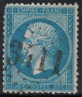 EMPIRE - N°22 - OBLITERATION - GC3411 - SIGOULES - DORDOGNE - COTE 34€ - DEFECTUEUX. - 1849-1876: Periodo Classico