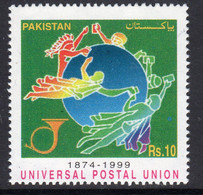 Pakistan 1999 125th Anniversary Of UPU, MNH, SG 1088 (E) - Pakistan