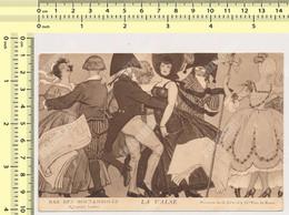 PARIS  BAR DES NOCTAMBULES LA VALSE Peinture De G. Leroux Danses Carte Postale Old Postcard - Otros