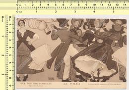PARIS  BAR DES NOCTAMBULES LA POLKA Peinture De G. Leroux Danses Carte Postale Old Postcard - Otros