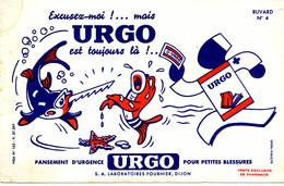 BU 2007 /   BUVARD- URGO  PANSEMENT   ( 21,00 Cm X 13,50 Cm) - Produits Pharmaceutiques