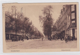 Amsterdam Bilderdijkstraat Volk Veel Fietsers Tram # 1924   1069 - Amsterdam