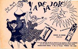 BU 2013 /   BUVARD-    YA DE LA JOLIE  APPAREIL EPILATOIRE      (22,00 Cm X 13,50 Cm ) - Parfums & Beauté