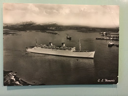 Carte Postale - S. S. Homeric - Ferries