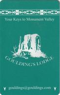 STATI UNITI  KEY HOTEL  Goulding's Lodge - Oljato-Monument Valley, UT - Cartes D'hotel