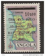 ANGOLA 1976 Stamp Day - Angola