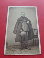 PHOTO FORMAT C. D . V . LANGRENE . STRASBOURG / PHOTO NOMMEE A DECHIFFRER / DOS SCANNE - Oud (voor 1900)