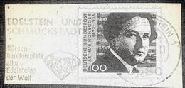 Crystal  Minerals  Postmark Special Edelstein- Und Schmuckstadt Borsen-handelsplatz Aller Edelsteine Der Walt - Minerals