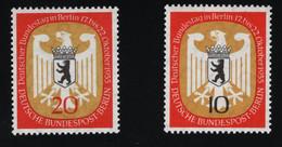1955 Deutscher Bundestag MiDE-BE 129 - 130 Sn DE 9N116 - 117 Yt DE-BE 114 - 115 Sg DE-BE B126 - 127 Postfr. Xx MNH - Ongebruikt