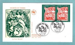 FDC France 1998 - Journée Du Timbre 1998 - Le Type Blanc De 1900 - YT 3136A - Paris - 1990-1999