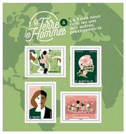 YVERT N° BLOC TERRE DES HOMMES - Francia