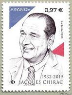 YVERT N°  JACQUES CHIRAC - Francia