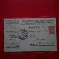 VARSOVIE WARSZAWIE CACHET CHEMIN DE FER - Pologne