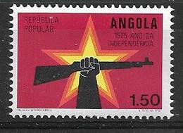 ANGOLA 1975 Independence Day - Angola