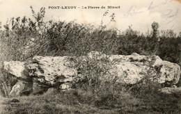 41. CPA. PONT LEVOY - La Pierre De Minuit - Dolmen - Scan Du Verso - - France