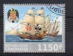 Spanish Galion C.XVI - Transports. Ships - Cancelled (1W1915) - Fantasie Vignetten