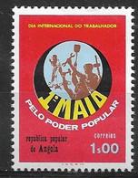 ANGOLA 1976 1st Of May Labor Day - Angola
