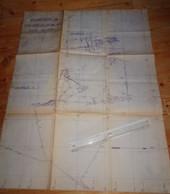 DECAZEVILLE Aveyron Plan Travaux Mines Quartiers VIALARELS 1 ET 2 1965 Mineurs Charbon - Planches & Plans Techniques