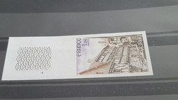 LOT518241 TIMBRE DE FRANCE NEUF** LUXE NON DENTELE N°2041 DEPART A 1€ - Imperforates