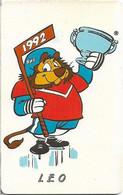 Czechoslovakia - CSFR - Ice Hockey World Champ, Leo - 1992, SC5, No CN, 120Units, 10.500ex, Used - Cecoslovacchia