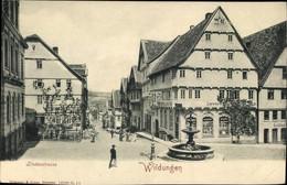 CPA Bad Wildungen In Nordhessen, Lindenstraße Am Marktplatz, Löwenapotheke, Brunnen - Otros