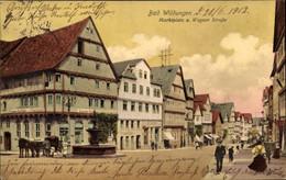 CPA Bad Wildungen In Nordhessen, Marktplatz Und Wegaer Straße, Löwenapotheke, Geschäft Carl Lorenz - Otros