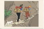 TINTIN - Hergé/Moulinsart N°03 - Le Capitaine Haddock Et Milou Grimpant à Flan De Montagne Sac à Dos - Comicfiguren