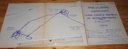 DECAZEVILLE Aveyron Plan Mine Du BANEL Incendie Feu Mines 1965 Mineurs Charbon - Planches & Plans Techniques