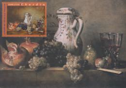 Carte  Maximum  1er  Jour   FRANCE   Oeuvre  De  CHARDIN   1997 - 1990-99