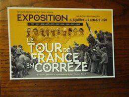 Le Tour De France En Corrèze - Exposition - Non Classificati