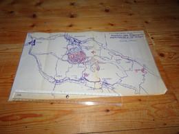 DECAZEVILLE CRANSAC Aveyron Plan Mines à Ciel Ouvert 1965 Mineurs Charbon Mine - Planches & Plans Techniques