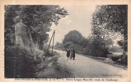 BAZOUGES LA PEROUSE  -  Pierre Longue Menhir - Route De Combourg ( Theme  - Dolmen Menhir ) - Other Municipalities