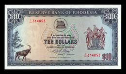 Rhodesia 10 Dollars 3.12.1975 Pick 33i SC UNC - Rhodesia