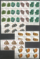 6x ZAIRE - MNH - Minerals - Nature - Minerales