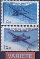 R1118/265 - 1960/1964 - POSTE AERIENNE - NORATLAS - N°38 ☉ - VARIETE ➤➤➤ Avion Double - Varieteiten: 1960-69 Afgestempeld