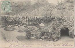 95 Presles Sépulture Néolithique Dans Le Parc Du Château  -s44 - Presles