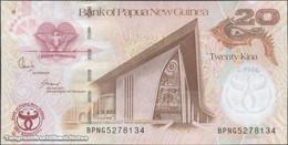 TWN - PAPUA NEW GUINEA 36a - 20 Kina 2008 35th Ann. Bank Of PNG - Prefix BPNG - Signatures: Bakani & Tossali UNC - Papua Nuova Guinea
