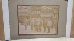 Photo Cérémonie Militaire Remise Décorations Médaille - 1920 - Strasbourg Taverne Gruber Et Cie - Old (before 1900)