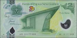 TWN - PAPUA NEW GUINEA 38 - 2 K. 2010 35th Ann. Of Independence - Polymer - Prefix AK - Signatures: Bakani & Tossali UNC - Papua Nuova Guinea