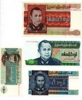 Burma / Lot De 4 Billets - Otros – América