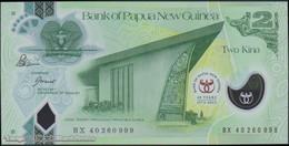 TWN - PAPUA NEW GUINEA 45 - 2 Kina 2013 40th Ann. Bank Of PNG - Polymer - Prefix BX - Signatures: Bakani & Tossali UNC - Papua Nuova Guinea