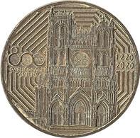 2020 MDP359 - AMIENS - Cathédrale Notre-Dame 3 (800 Ans) / MONNAIE DE PARIS 2020 - 2020