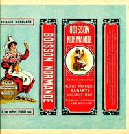 / ETIQUETTE    BOISSON NORMANDE  PLANTES HYGIENIQUES   10 RUE DU PARC  VERNON  (EURE) - Labels